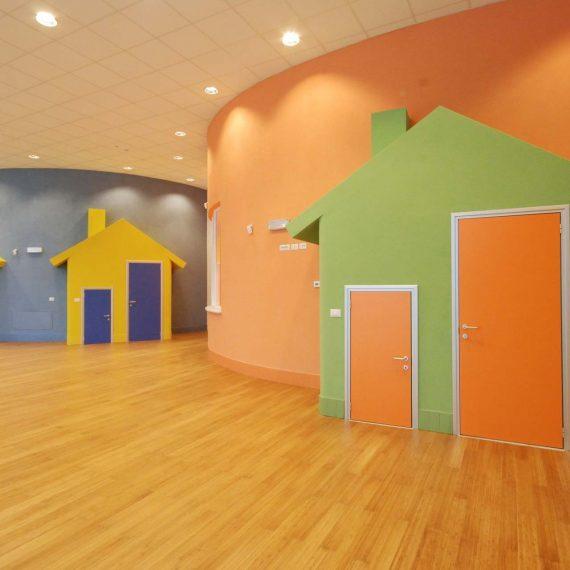 Un asilo nido a misura di bambino, un progetto di Roberto Silvestri Architetto