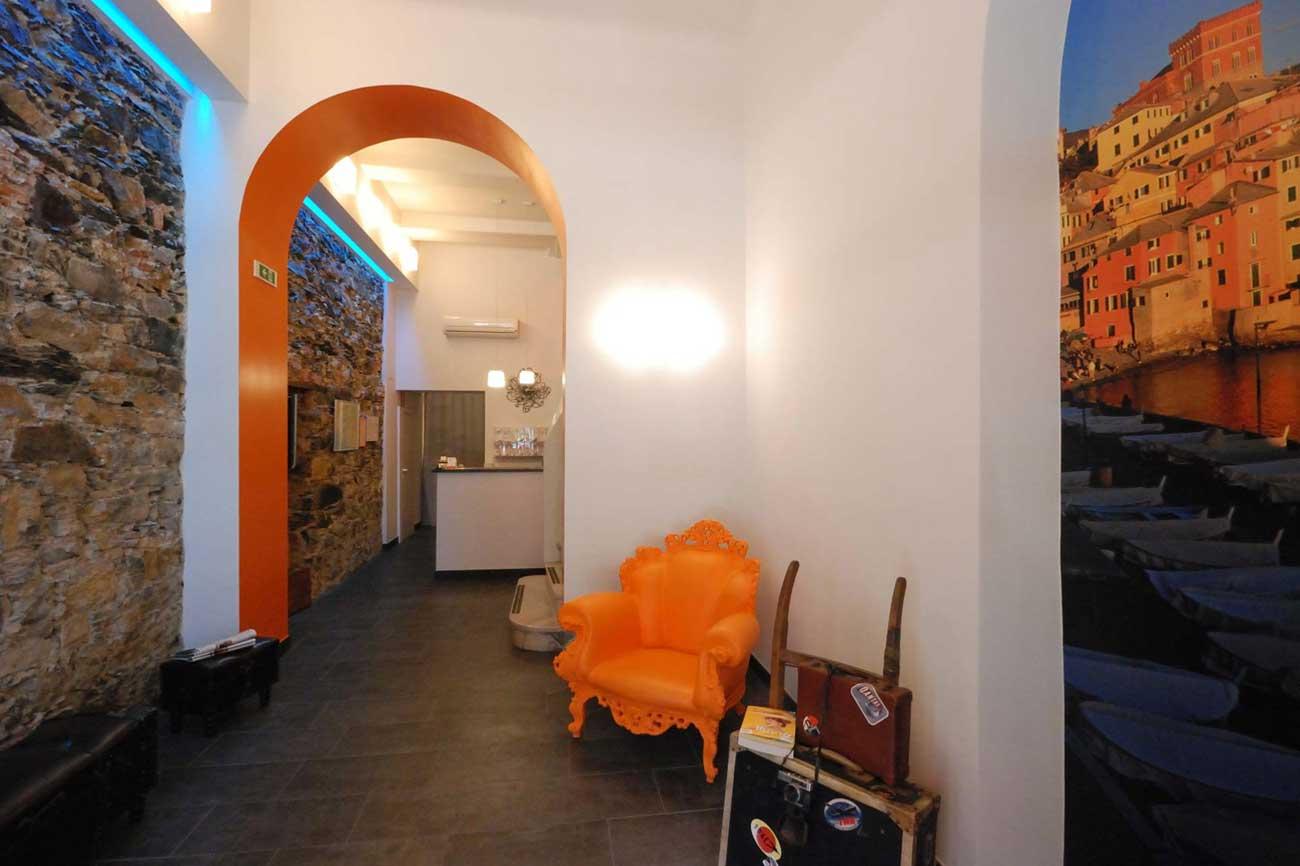 La ristrutturazione dell'Hotel Fiume a Genova, di Roberto Silvestri Architetto